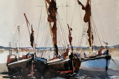 Sailing at Maldon