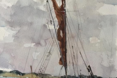 Thames Barge, Pin Mill
