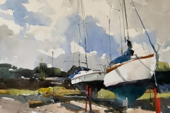 Sailing Boats, Pin Mill Suffolk