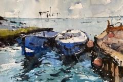 Moored Boats, West Mersea