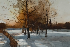 Monton Church, Winter