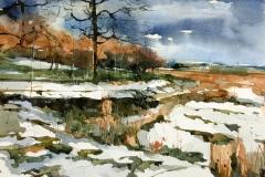 Lyme Park Snow