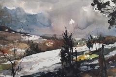 Winter in Lyme Park