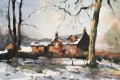 Winter Farmhouses, Haigh