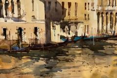 Sunset Venetian Canal